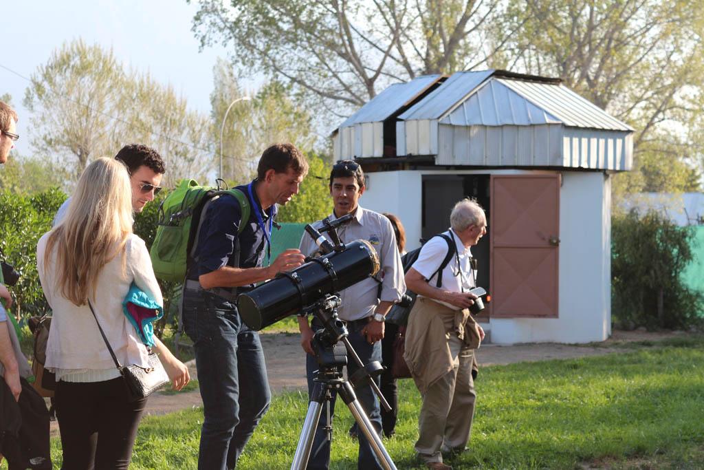 Eclipse solar 2019 en Chile, telescopios y observación de las estrellas