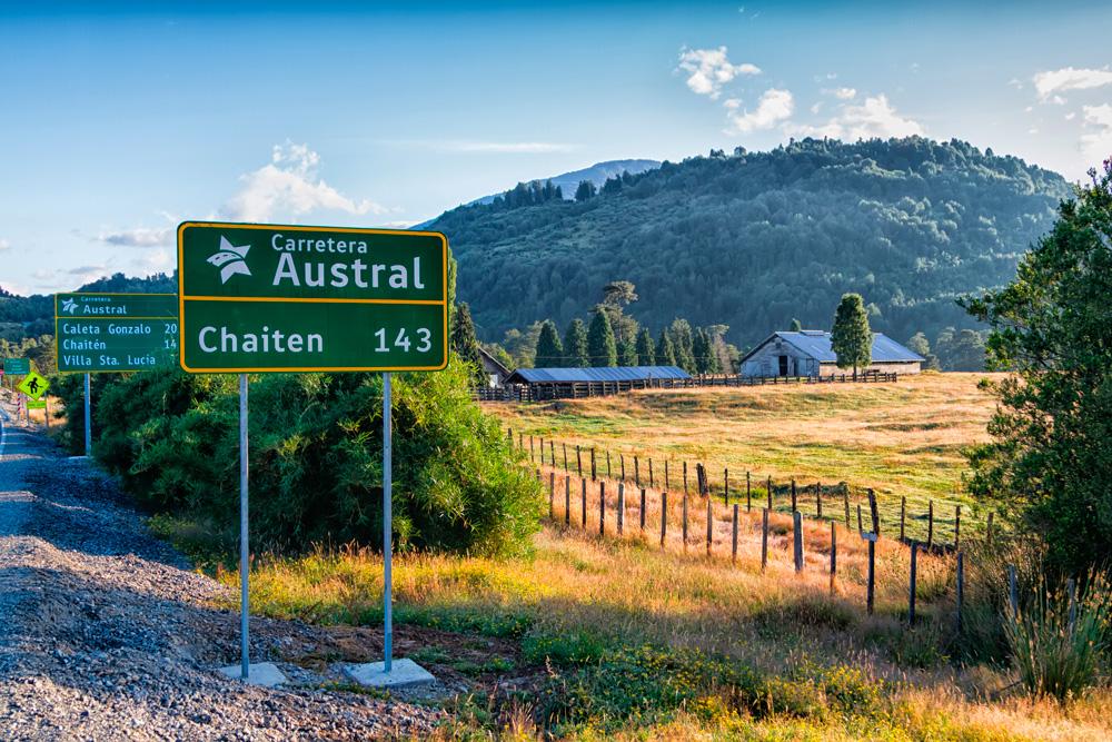 Imagen de la Carretera Austral