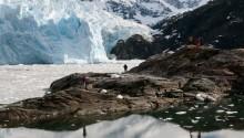 Glaciar en Tierra del Fuego para celbrar el año nuevo en Chile