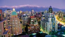 Imagen de los edificios de la ciudad de Santiago