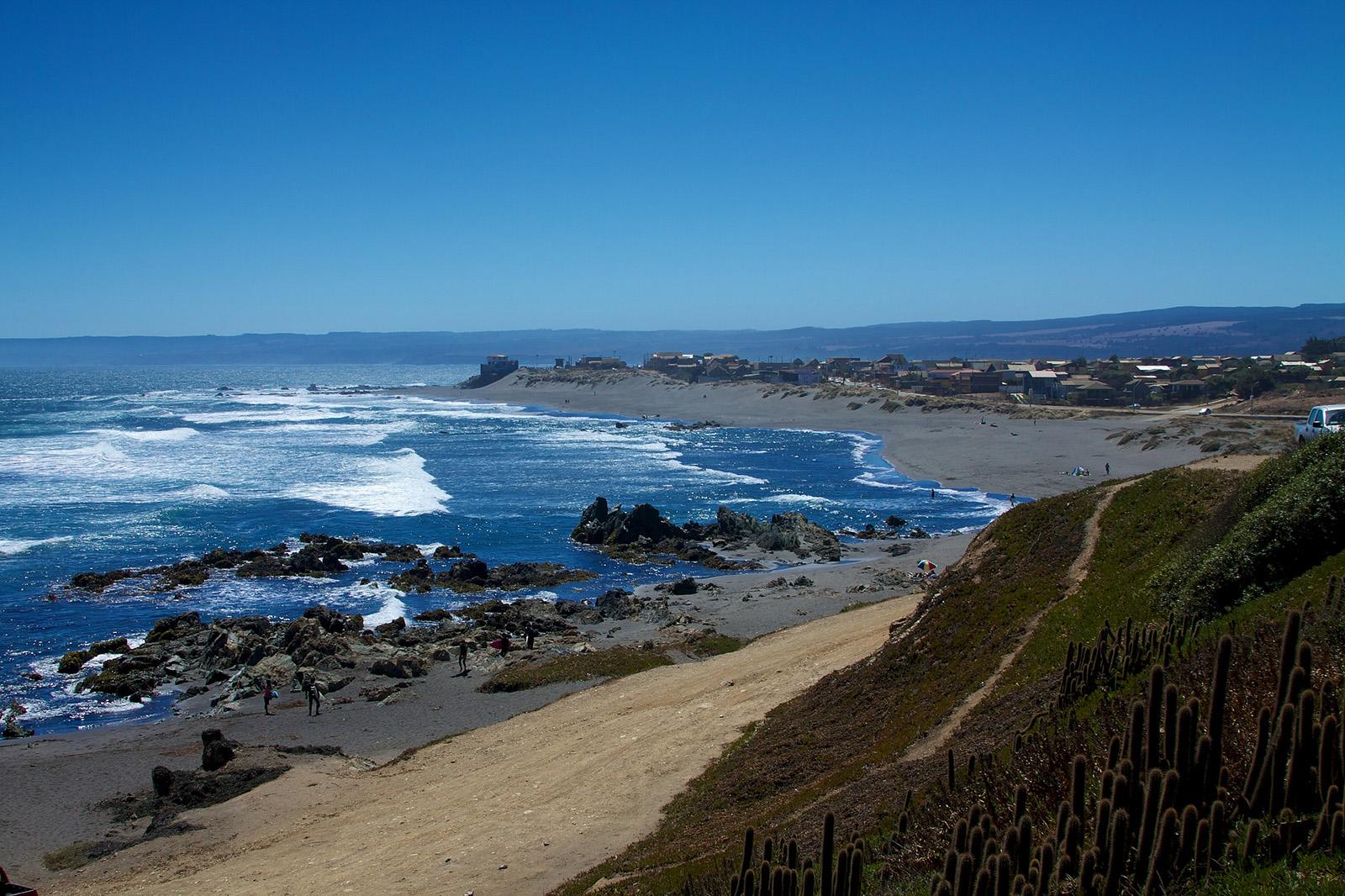 Pichilemu es una de las mejores playas de Chile para practicar surf