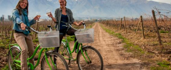 5 rutas para andar en bicicleta en Chile