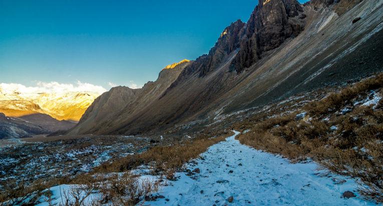 El Monumento Natural El Morado es uno de los 7 mejores trekking en Chile