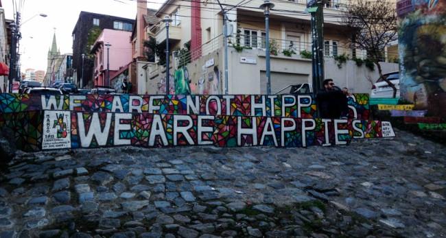 Graffitis Valparaíso