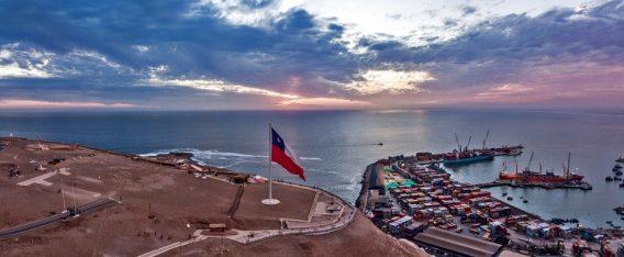 Vista a la ciudad desde el Morro, un imperdible de Arica