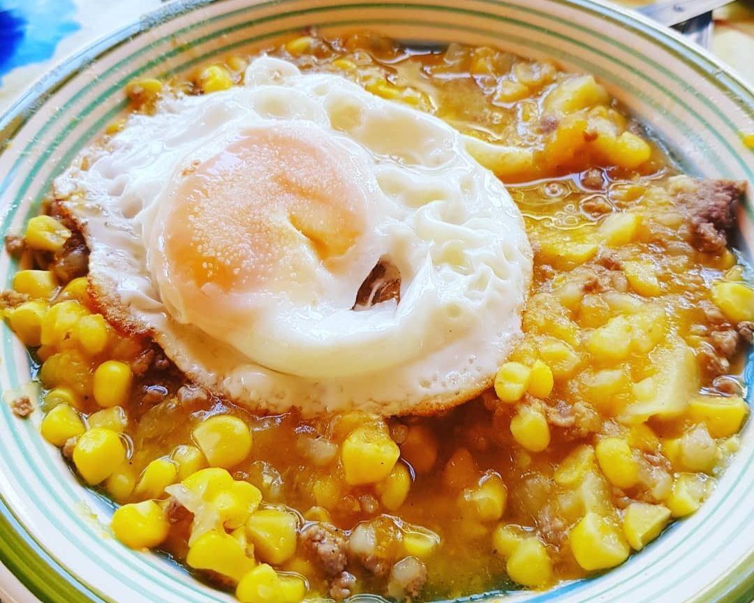Cocina criolla chilena - charquicán
