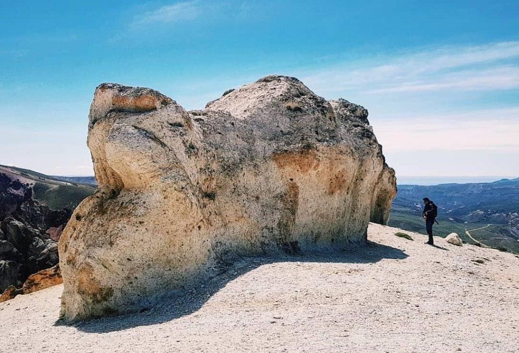 El Valle Lunar en Jeinimeni es una gran aventura por la Patagonia.