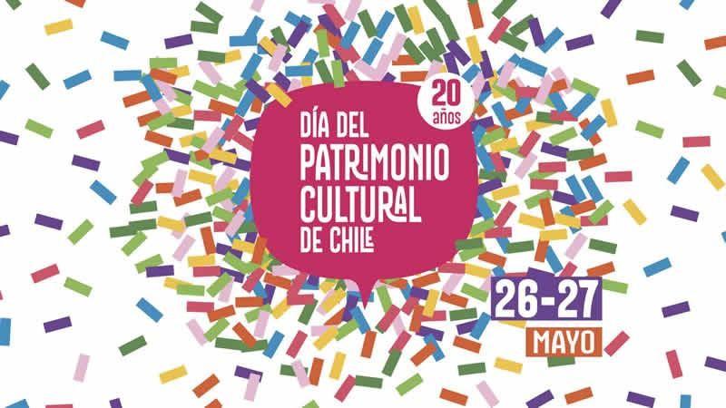 Celebra este 26 y 27 de mayo el Día del Patrimonio Cultural en Chile.