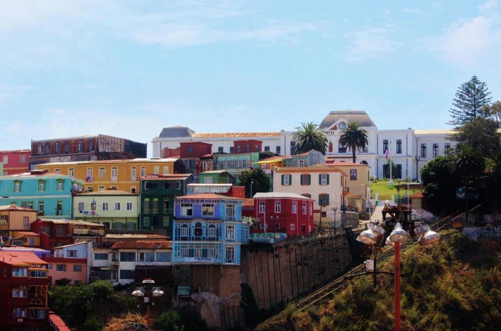 Valparaíso, uno de los destinos donde hubo películas rodadas en Chile.