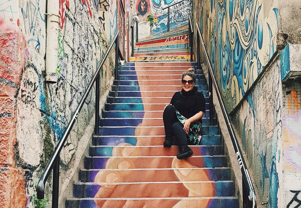 Las escaleras del puerto, un imperdible en tu fin de semana en Valparaíso.