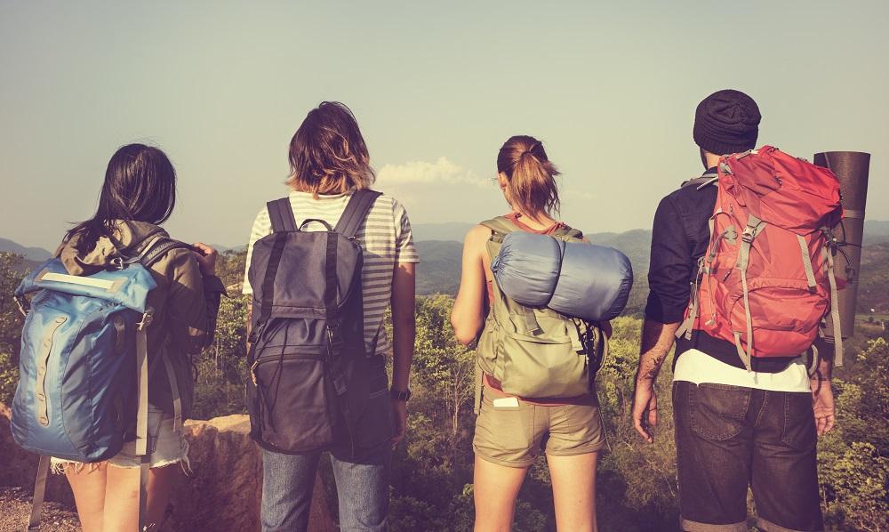 Grupo de amigos se va de camping a celebrar el año nuevo en Chile