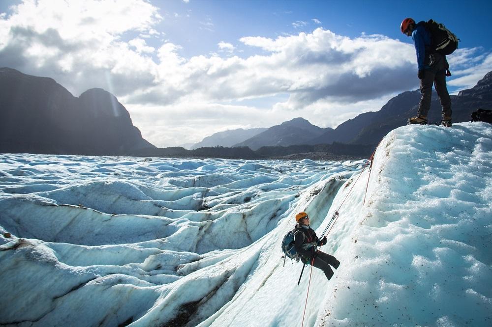 8 días en la Carretera Austral: Trekking en el glaciar Exploradores.