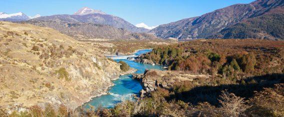 Viajes por la Patagonia: Paisaje río Baker