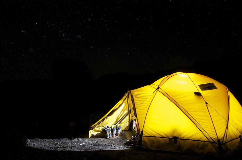 Los mejores lugares de camping en Chile