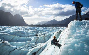 Viaje por la patagonia y por glaciar exploradores
