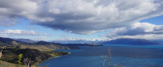 Viaje por la patagonia: Vista 360° del lago General Carrera