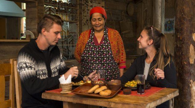 Etnoturismo en La Araucanía y su gastronomía típica