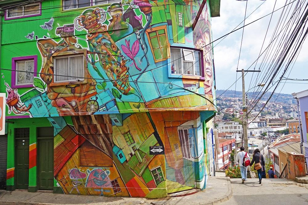Ruta del Street Art en Valparaíso y sus graffitis