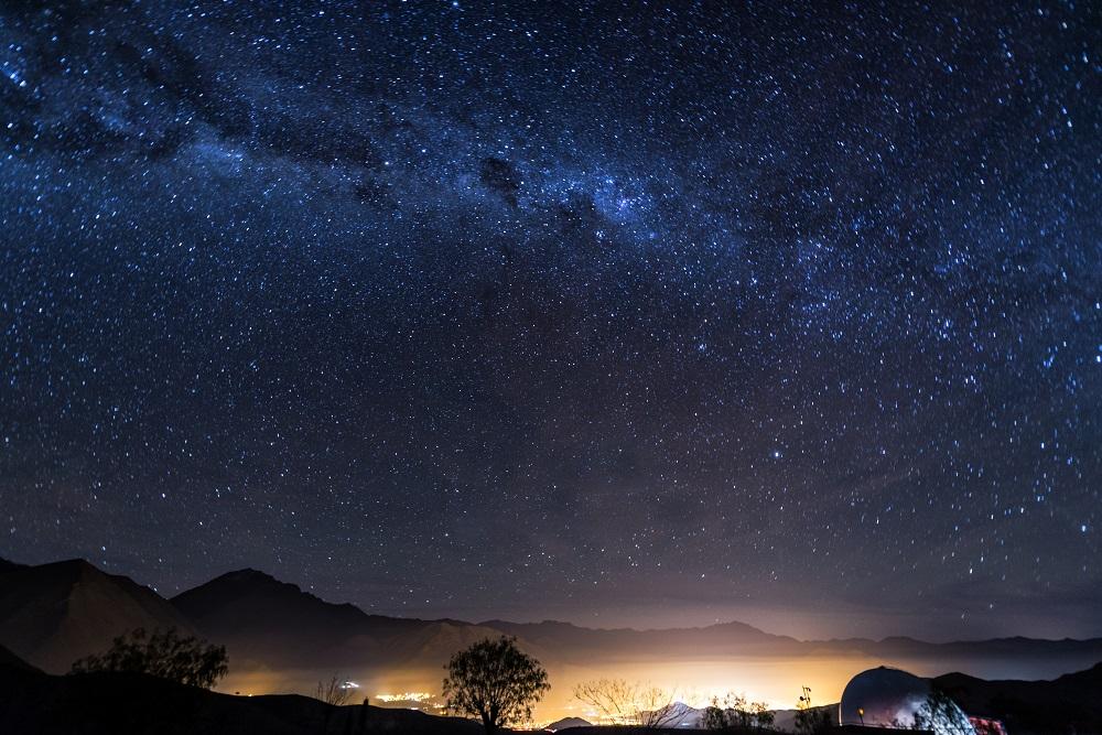 Astronomía en Chile y paisajes estrellados