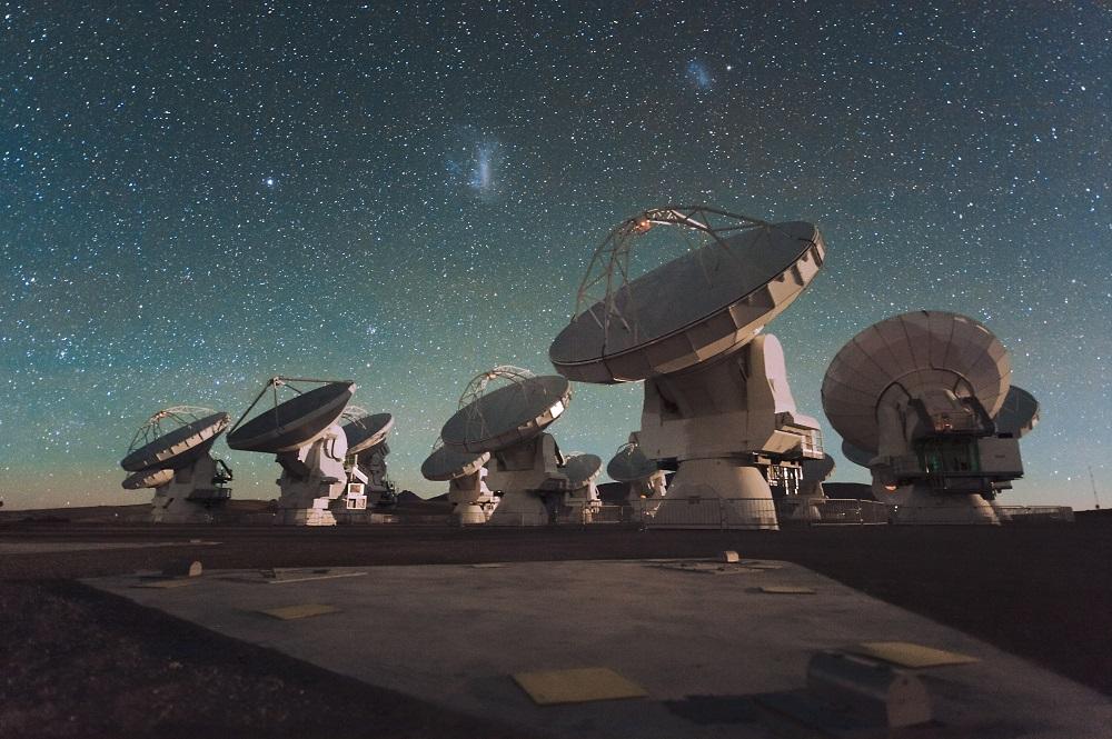 Astronomía en Chile y observatorios