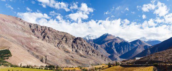 Astronomía en Chile y paisajes de Valle de Elqui