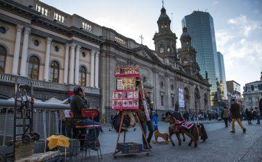 Tours gratuitos para conocer Santiago: Centro histórico