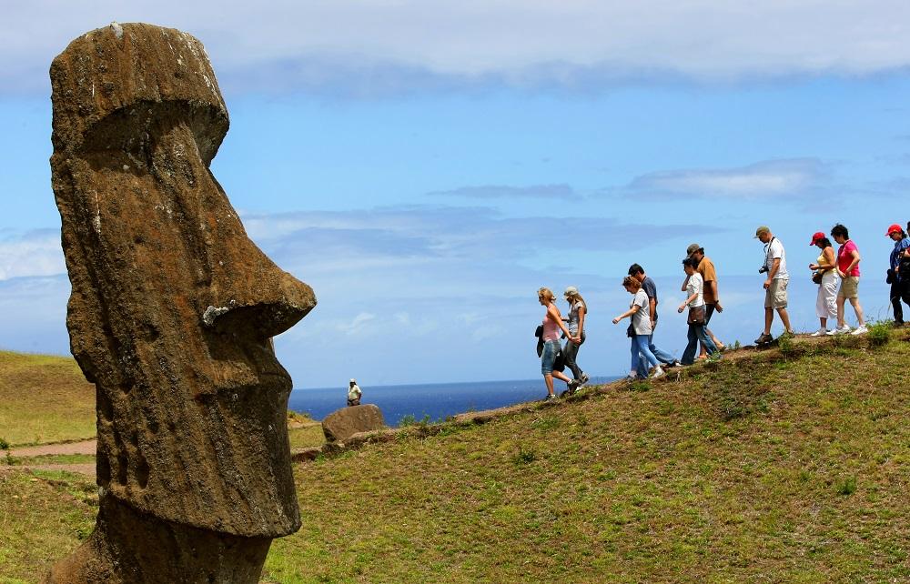 El Parque Nacional Rapa Nui es Patrimonio de la Humanidad en Chile