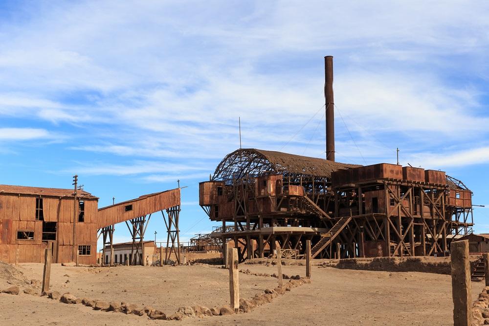 Patrimonio de la Humanidad en el norte de Chile - La Salitrera de Santa Laura