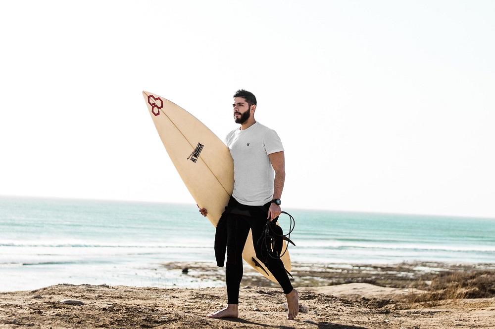 un paraiso escondido para la practica del surf