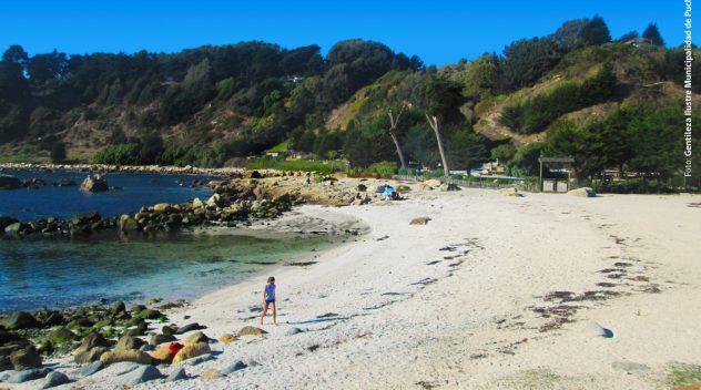 Imagen de la playa de Puchuncavi