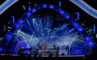 Imagen del escenario del Festival de Viña del Mar