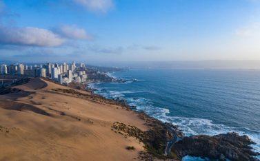 Imagen de las dunas en Concón