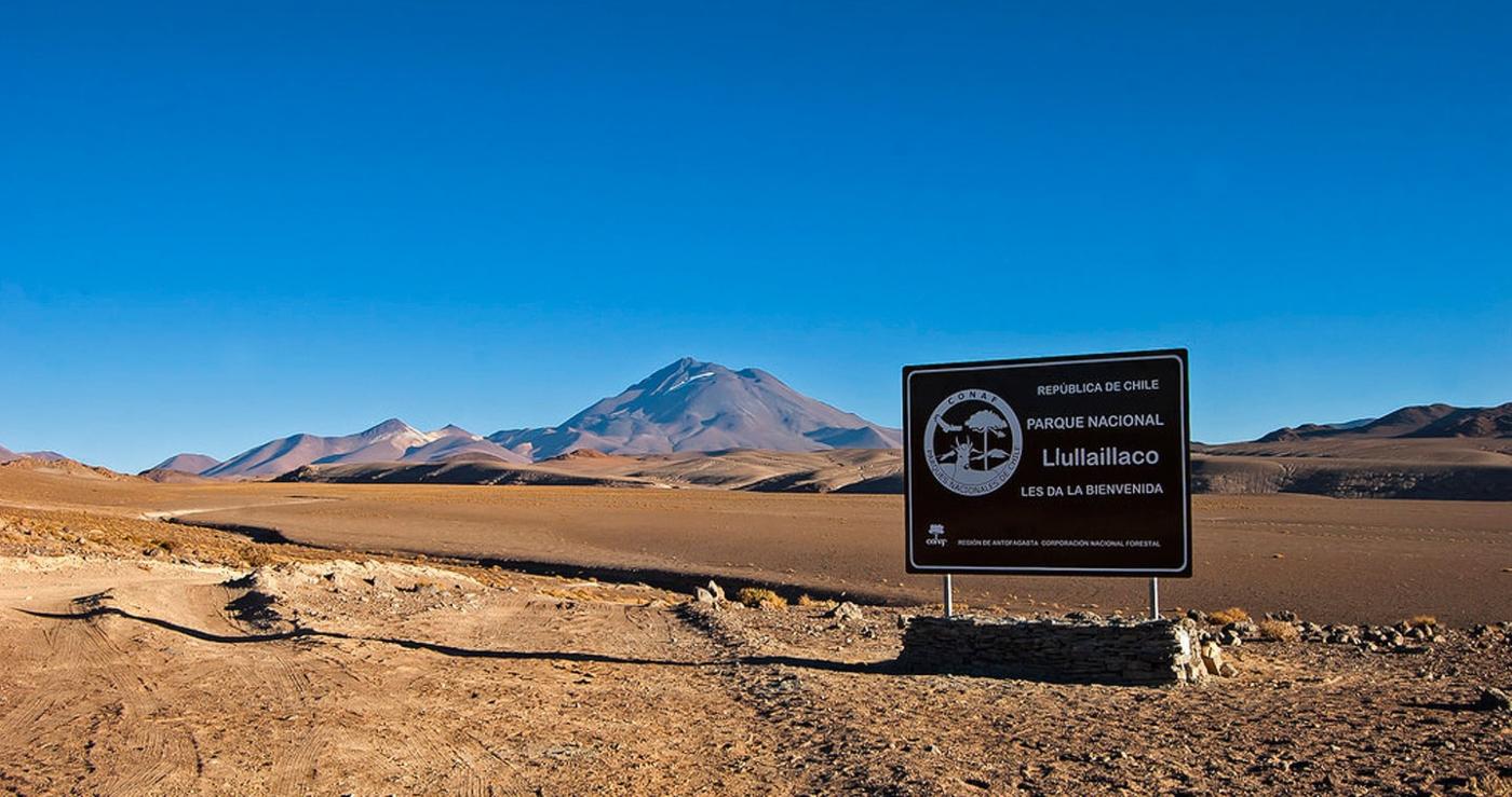 Imagen del Parque Nacional Llullaillaco