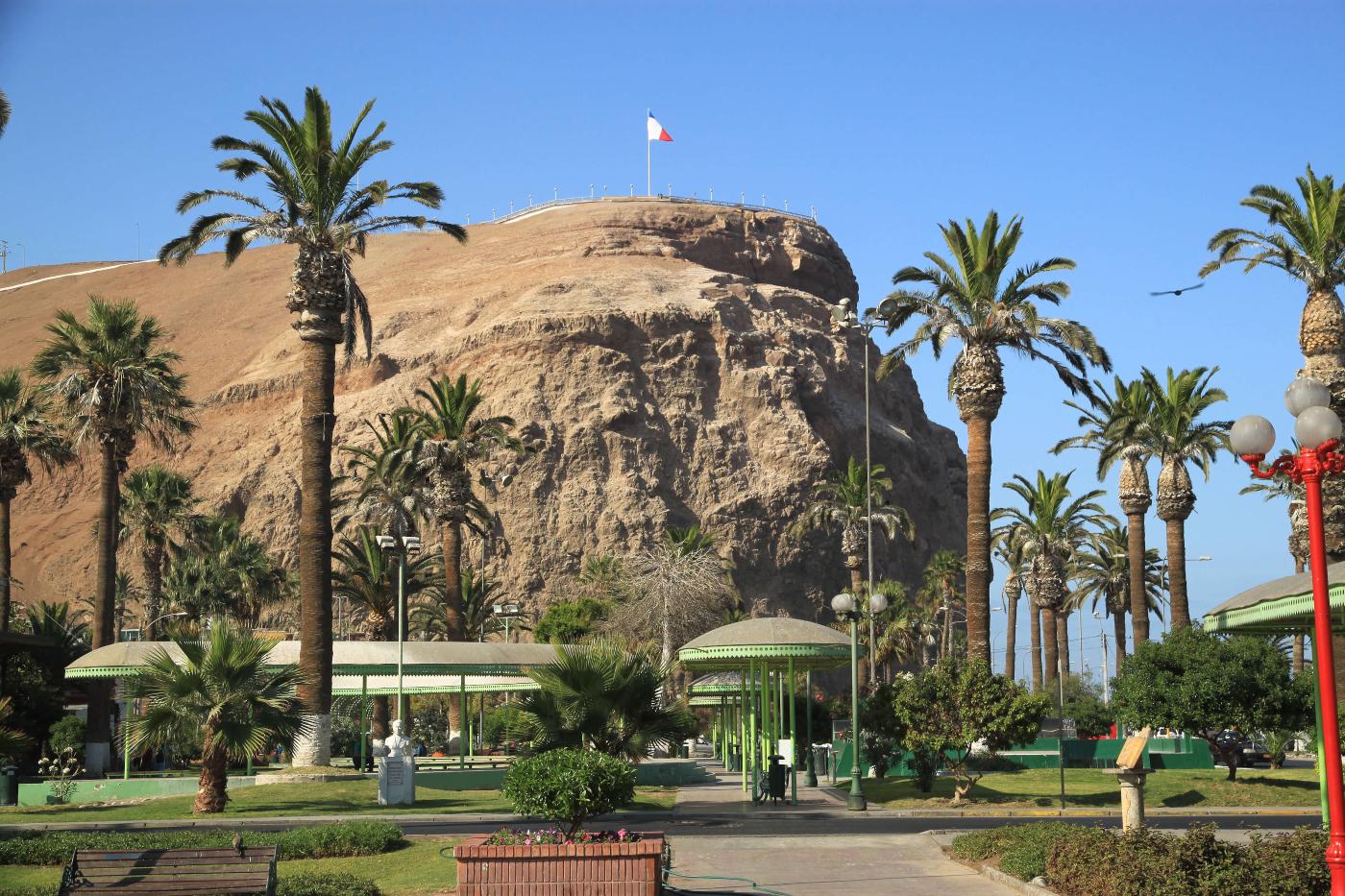 Imagen del Morro de Arica