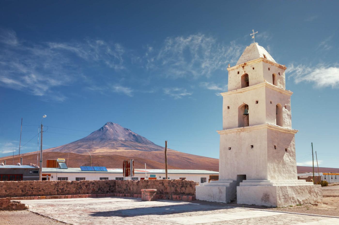 Imagen de una iglesia en la Región de Tarapacá