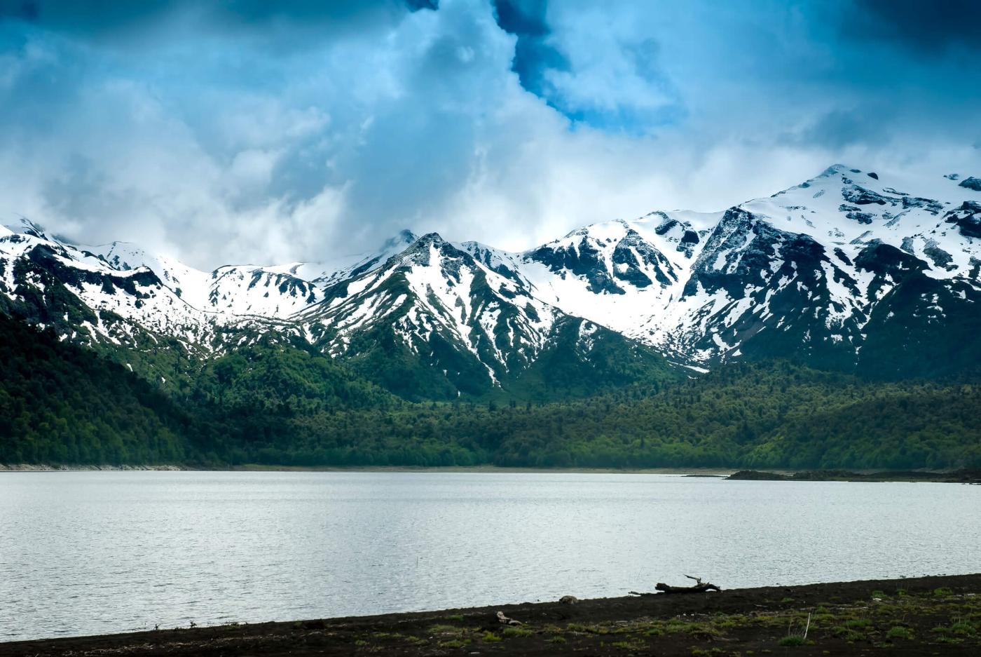 Imagen del Parque Nacional Conguillío y Sierra Nevada