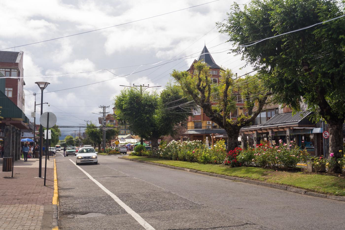 Imagen de las calles de Pucón