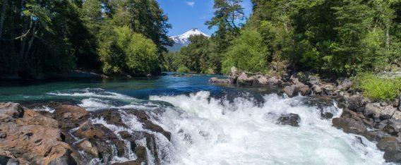 Imagen del Río Trancura