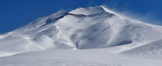 Imagen del Volcán Lonquimay