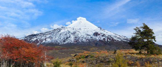 Imagen del Volcán Villarica