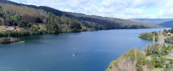 Imagen del Lago Lleu Lleu