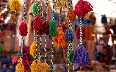Imagen de pompones andinos