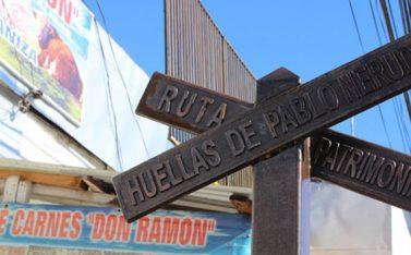 Imagen de la ruta Huellas de Pablo Neruda