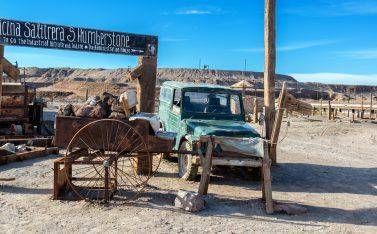 Imagen de la Salitrera Humberstone en la región de Antofagasta