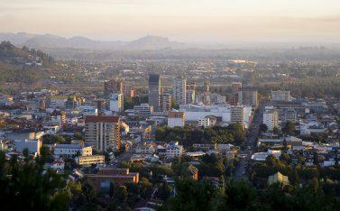 Imagen panorámica de la ciudad de temuco