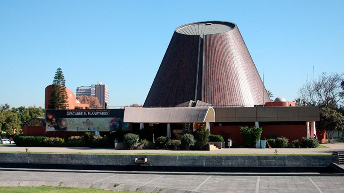 Imagen del Planetario de la USACH