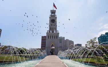 Imagen del reloj de Iquique