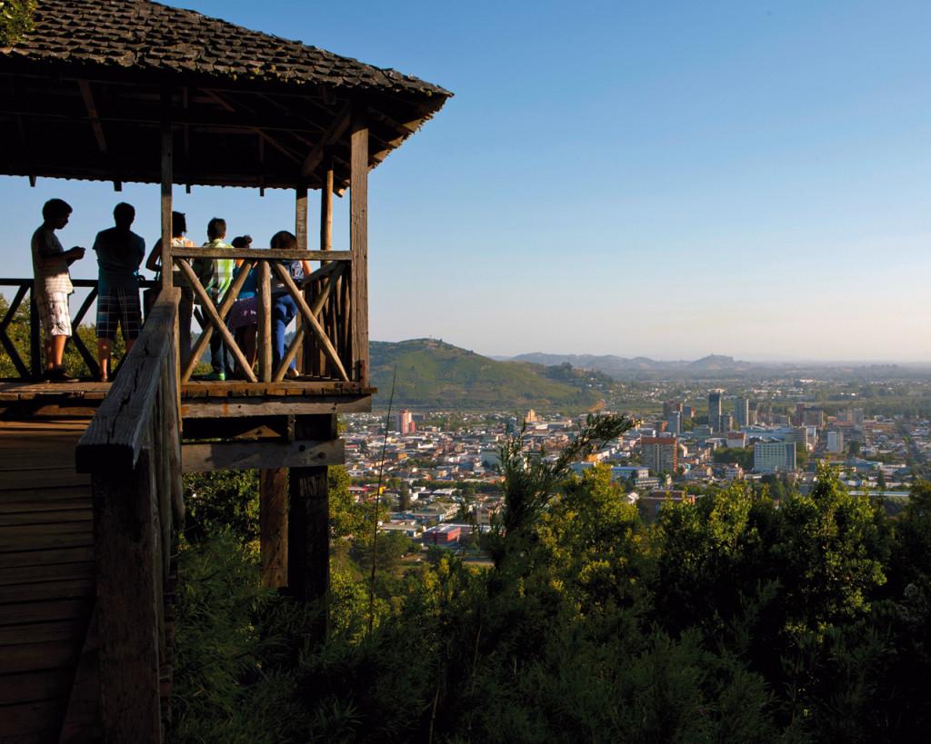 Imagen del cerro Ñielol