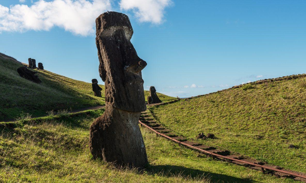 Imagen de Rano Raraku Rapa Nui