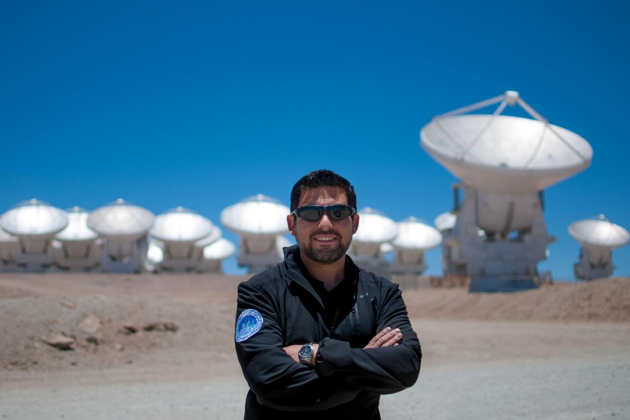 Imagen del astrofotografo Sergio Otarola